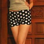 Yoga Shorts Polkadots Mac..
